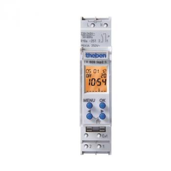 Digital Time Switches THEBEN TR 609 top2 S