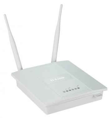Wireless-N Gigabit PoE Access Point with Plenum-rated Chassis D-Link DAP-2360/EAU