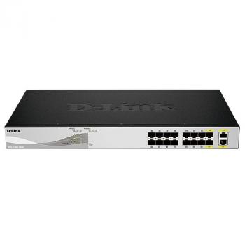 16-Port EasySmart 10-Gigabit Ethernet Smart Managed Switch D-Link DXS-1100-16SC