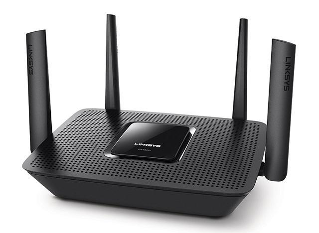 Max-Stream AC2200 Tri-Band Wi-Fi Router LINKSYS EA8300