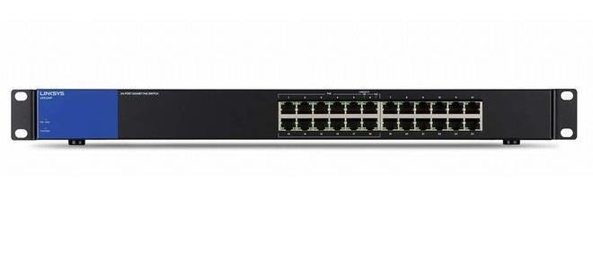 24-Port Business Desktop Gigabit PoE+ Switch LINKSYS LGS124P