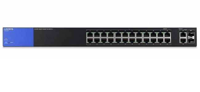 26-Port Business Smart Gigabit PoE+ Switch LINKSYS LGS326P