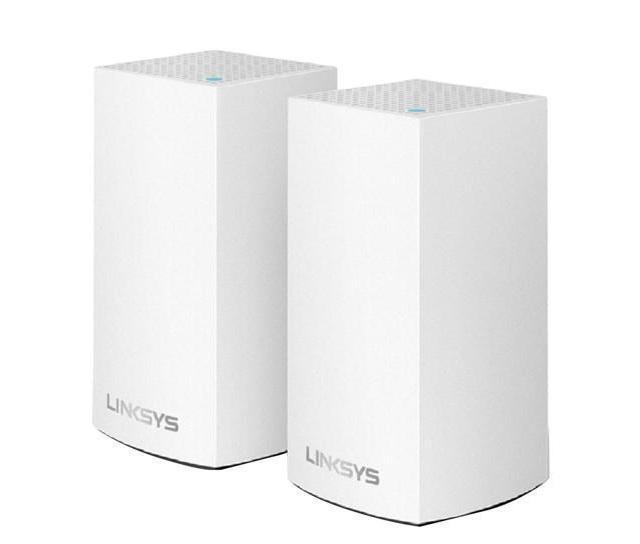AC2600 Dual-Band Intelligent Mesh WiFi System LINKSYS WHW0102 (2 Pack)