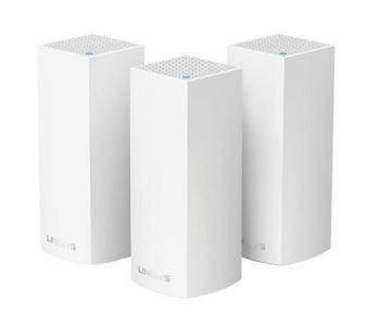 AC3900 Dual-Band Intelligent Mesh WiFi System LINKSYS WHW0103 (3 Pack)