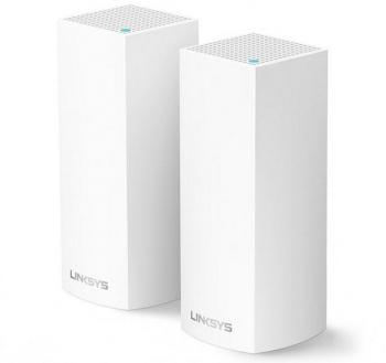 AC4400 Intelligent Mesh WiFi System LINKSYS WHW0302 (2 Pack)