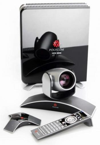 VIDEO CONFERENCE POLYCOM HDX 6000 HD codec