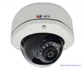 ACTi E77 Outdoor IR Dome 10MP IP Security Camera