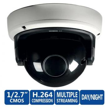 Bosch NDN-832V09-P FLEXIDOME HD 2MP Dome IP Security Camera - 9~40mm Varifocal Lens, 1/2.7