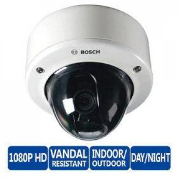 Bosch NIN-932-V10IPS FLEXIDOME IP dynamic 7000 VR 3MP Indoor/Outdoor Dome Security Camera - 10~23mm SR Lens, IVA, Weatherproof, Vandal Proof, SMB