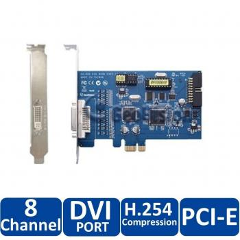 Geovision GV-600-8 8-Channel PCI Express Digital Video Recorder Card - Video Capture