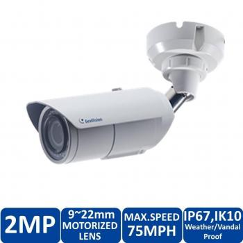 Geovision GV-LPC2211 2MP License Plate Recognition IP Bullet Security Camera