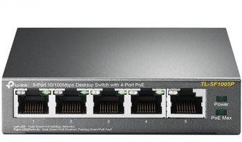 5-Port Gigabit with PoE Desktop Switch TP-LINK TL-SF1005P