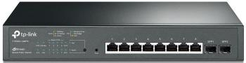 JetStream 8-Port Gigabit Smart PoE+ Swich with 2 SFP Slots TP-LINK T1500G-10MPS