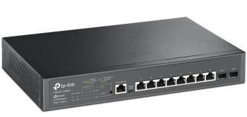 JetStream 8-Port Gigabit PoE+ with 2 SFP Slots Switch TP-LINK T2500G-10MPS