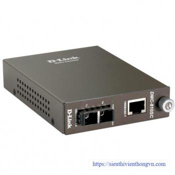 1000Base-TX (UTP) to 1000Base-LX (SC) Single-mode Media Converter D-Link DMC-810SC/E