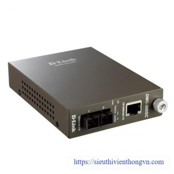 10/100Base-TX (UTP) to 100Base-FX (SC) Multi-mode Media Converter D-Link DMC-300SC/E